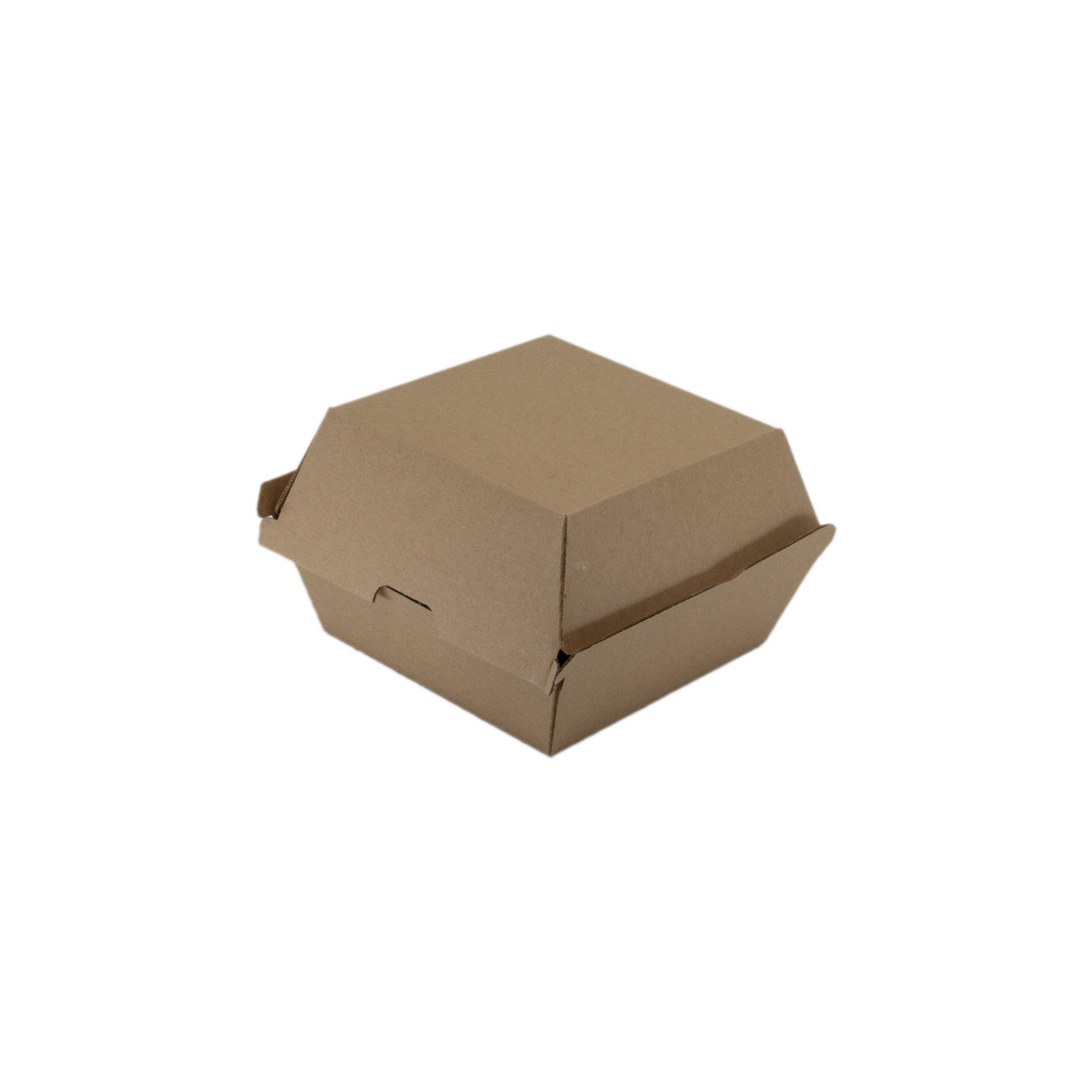 iK-EBB2 Jumbo Burger Box   120x120x100mm  4x50 slv 200pcs