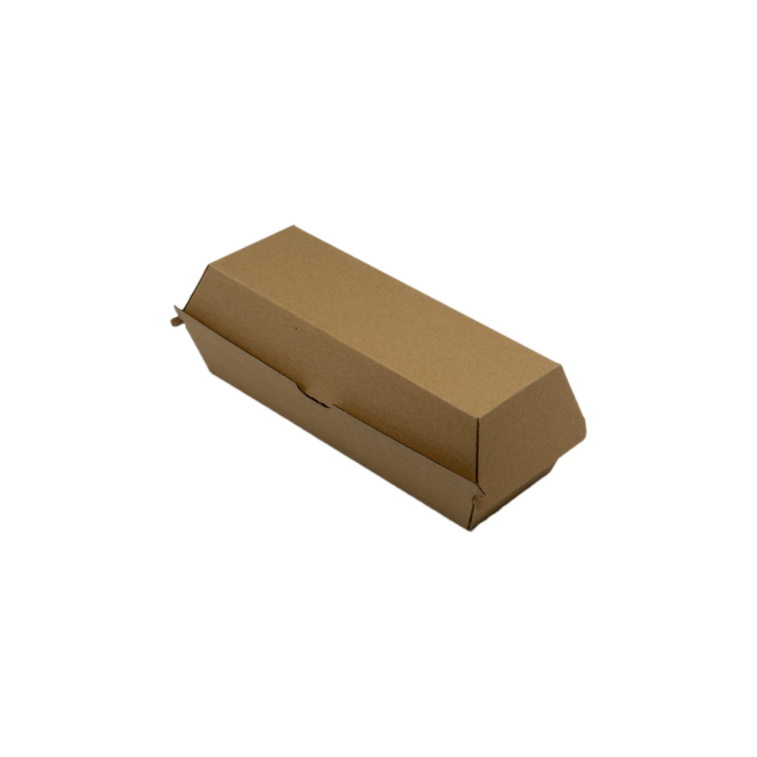 iK-EBHDOG Hot dog Box (hinged)   210x70x75mm 4x50 slv 200pcs