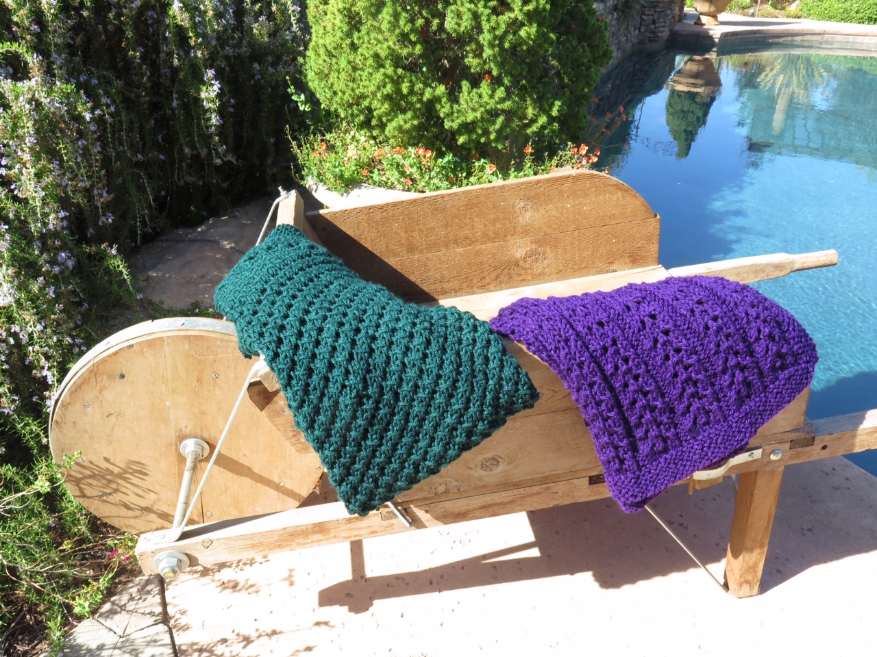 AE - Marleen's 2 lap blankets.JPG