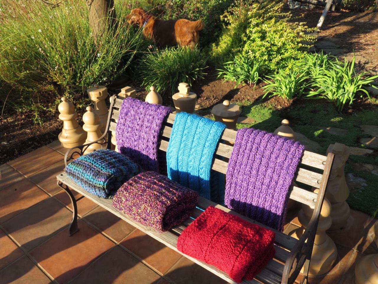 AE - Judy's 6 lap blankets.JPG