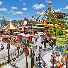 景点,主题公园和水上乐园