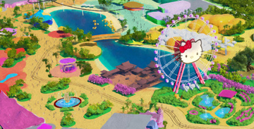 Hello Kitty World Theme Park   Our work on developing numerous branded IP-based children's precincts resulted in being asked to provide the Master Plan for an extensive Hello Kitty World Theme Park on Hainan Island, China .. (more..)