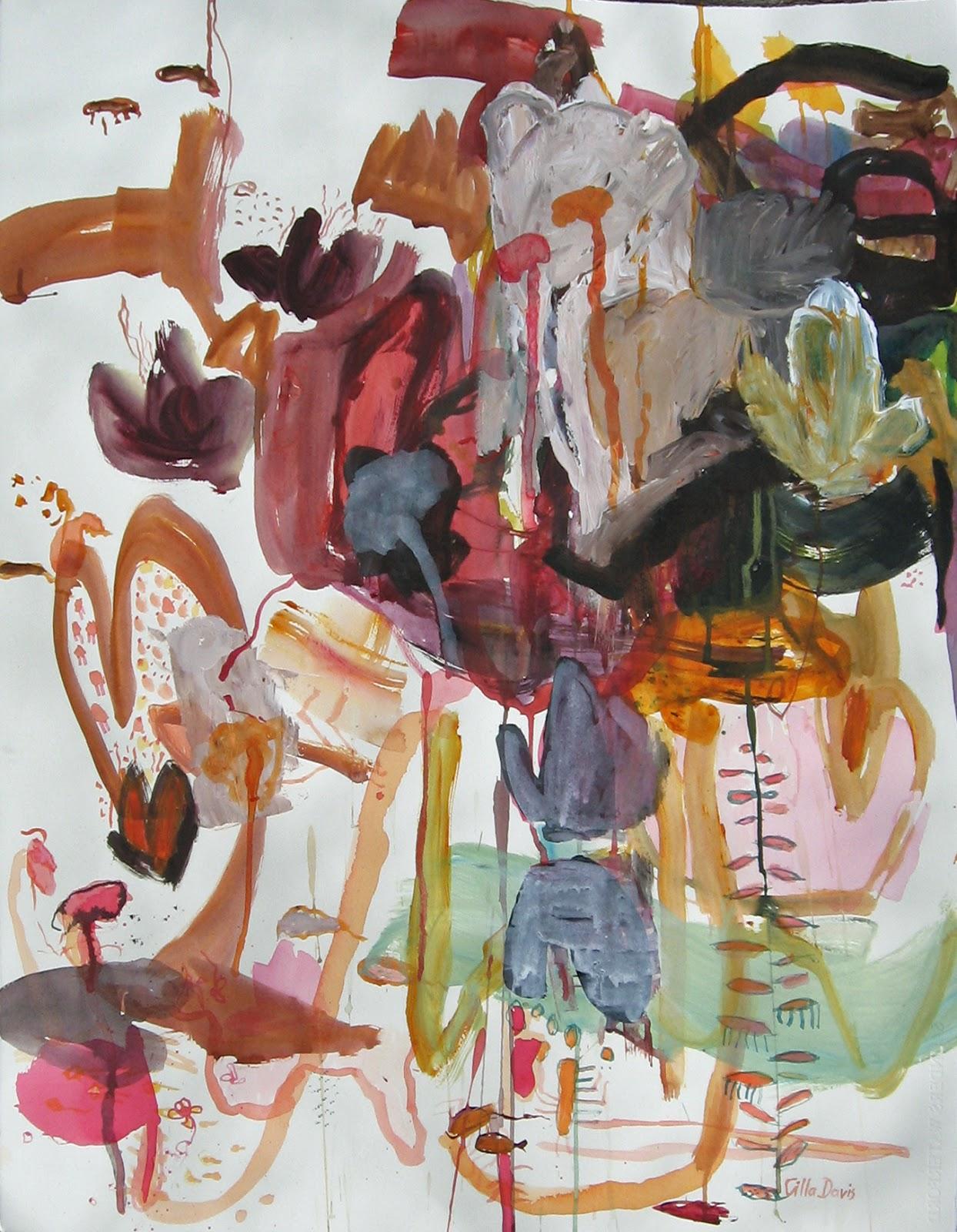 2013 LLOYD REES WINNER 'Pink Pond 2' by Cilla Davis