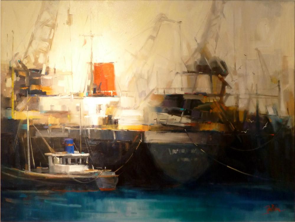2012 LLOYD REES WINNER 'Port Impressions' by John Perkins
