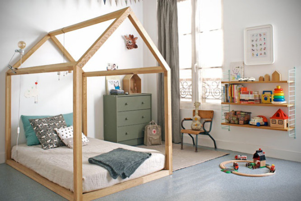 """a """"minitecture"""" floor bed"""