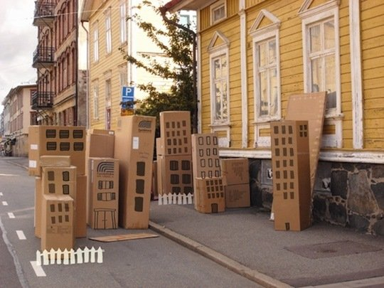 15 ideas for toys made out of cardboard!