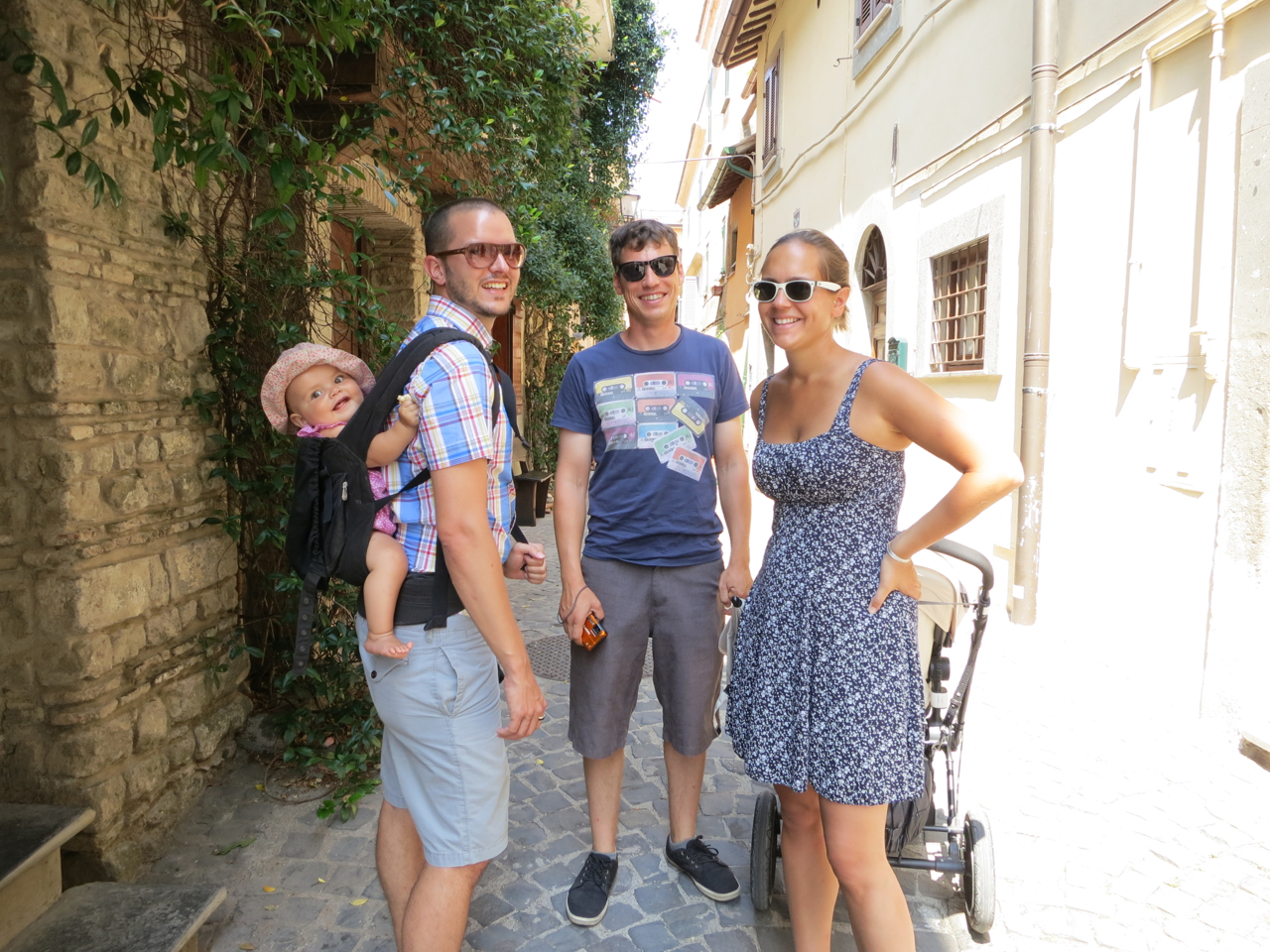 Summer 2013 in Italy - Léonore, Matthieu, Frantz & my little sister Michelle