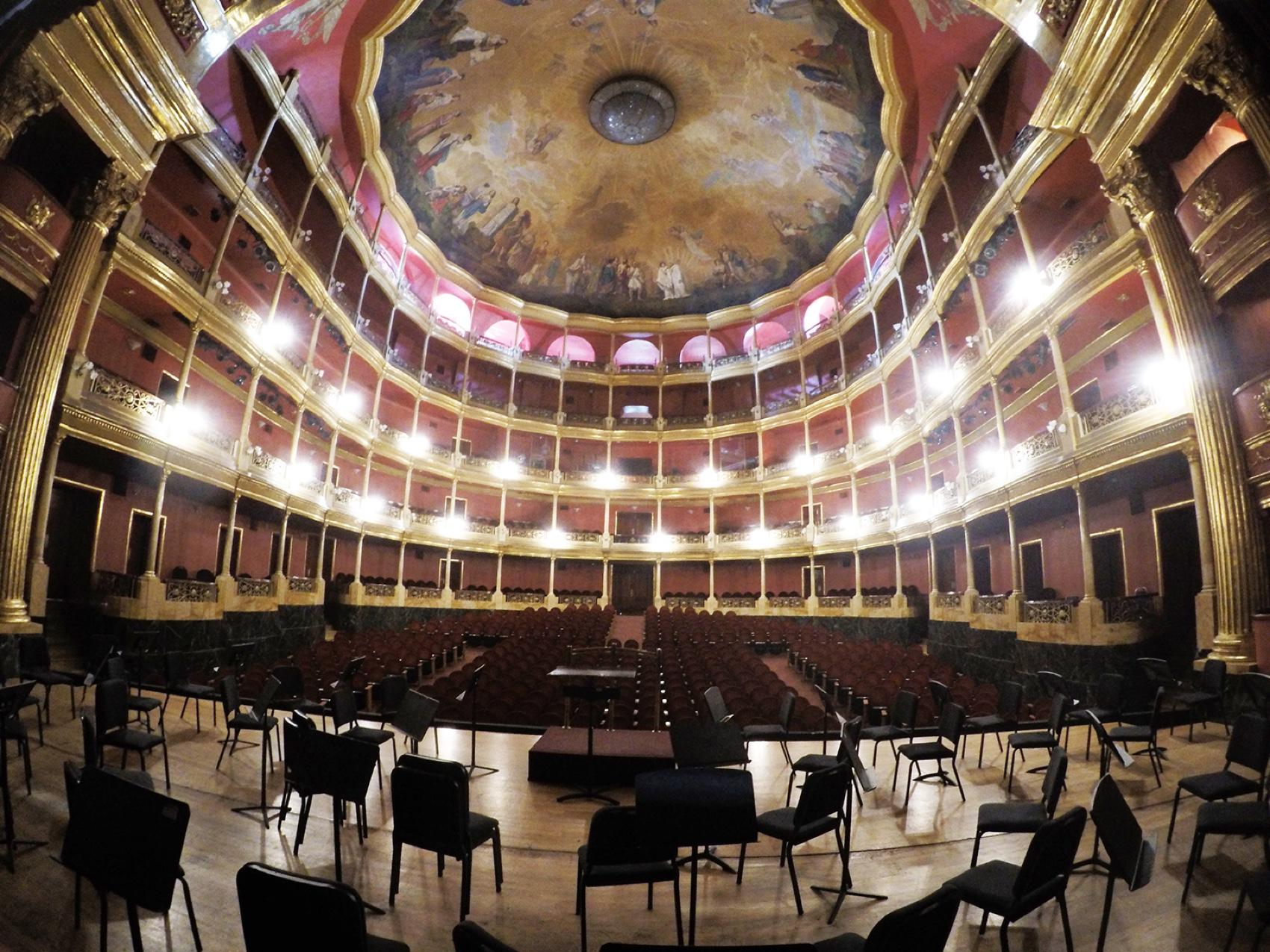 Teatro Degollado, Guadalajara, Meksiko