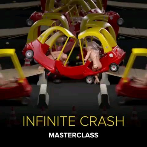 Want to learn how to make one of my infinite crash tests? I have made a Masterclass tutorial over at @motiondesignschool showing how to do just that! Follow the link in my bio. 💥💥💥