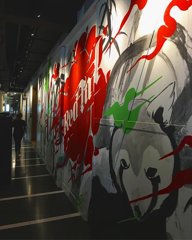 #RedTail by #Zouk! #ComingSoon @zouksingapore #specialcommission #murals #theArtling @theArtling