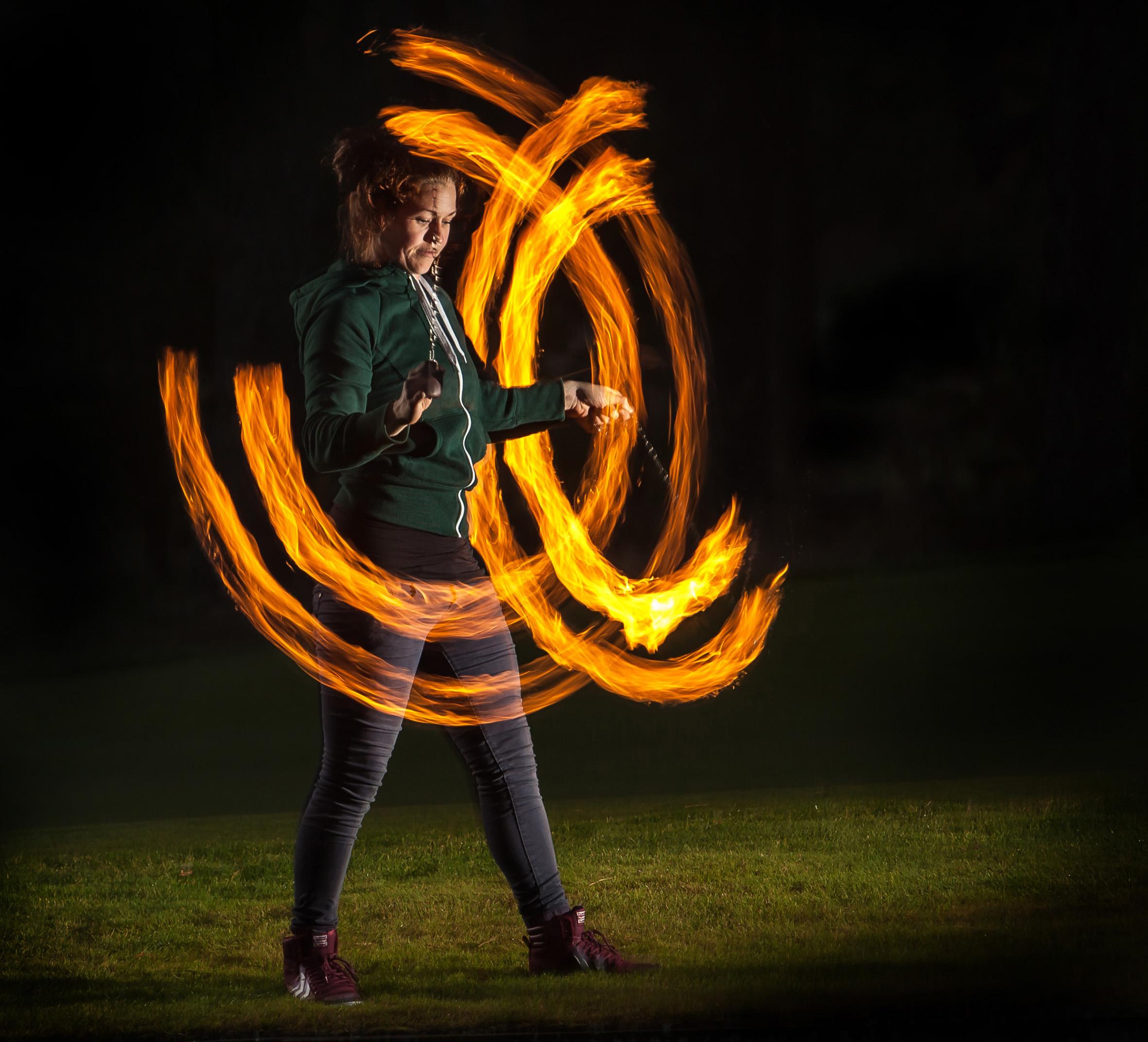 Miriam Swartz - Fire Joggler