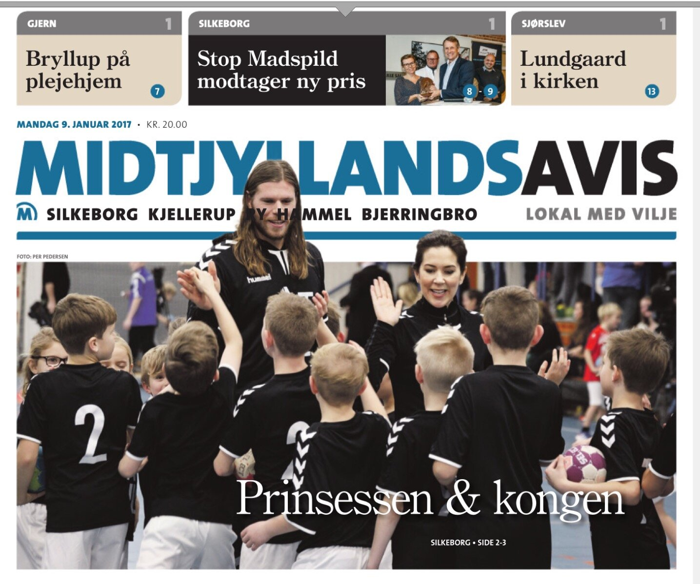 Coverpage Midtjyllands Avis