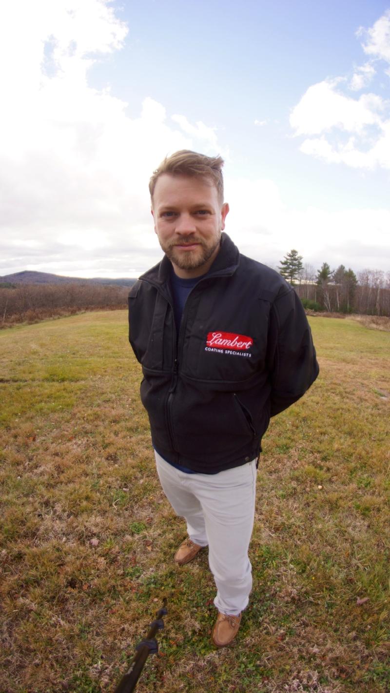 Master coating specialist Benjamin Lambert  owner