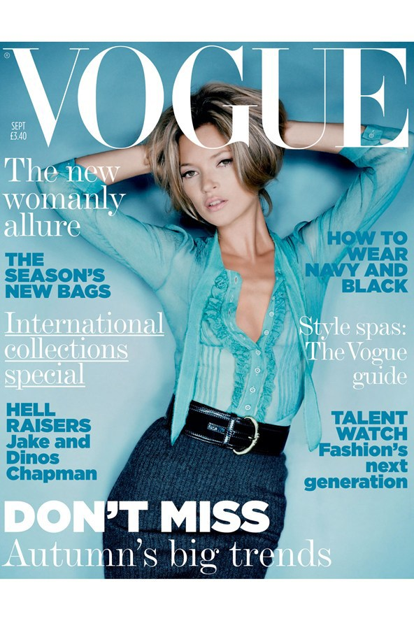 Vogue Cover, September 2005 | Photography Nick Knight