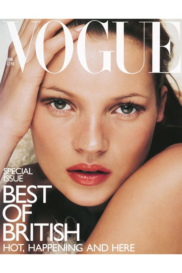 Vogue Cover, June 1998 | Photography by NIck Knight