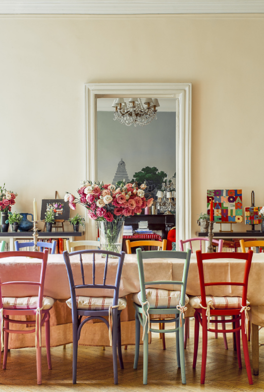 At Home With: Inès de La Fressange