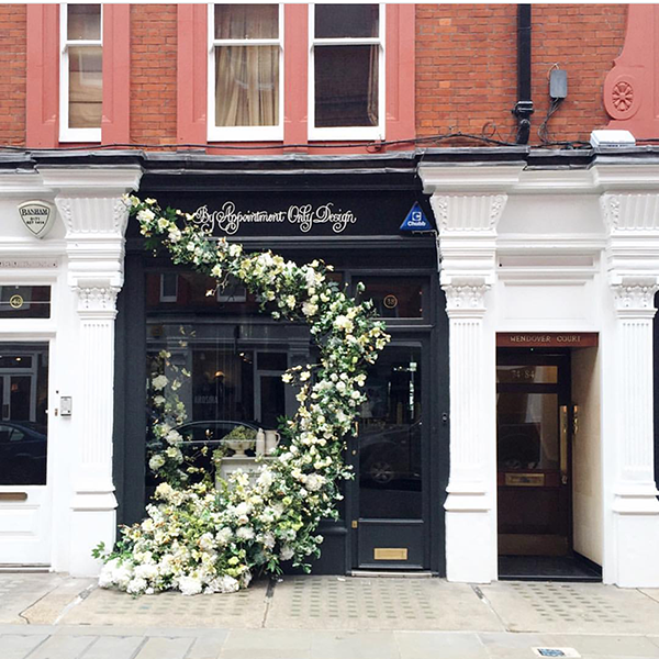 The Shops of London are Overflowing with Flowers