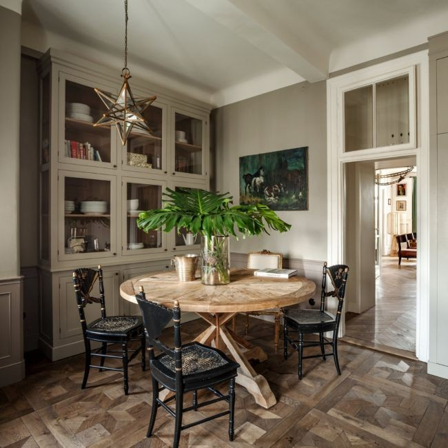 Decor Inspiration: A 1930's Parisian-style apartment in Warsaw