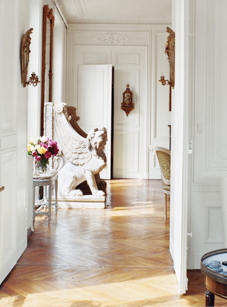 Interiors Redux | At Home With: Erin Fetherston, Paris, 2002