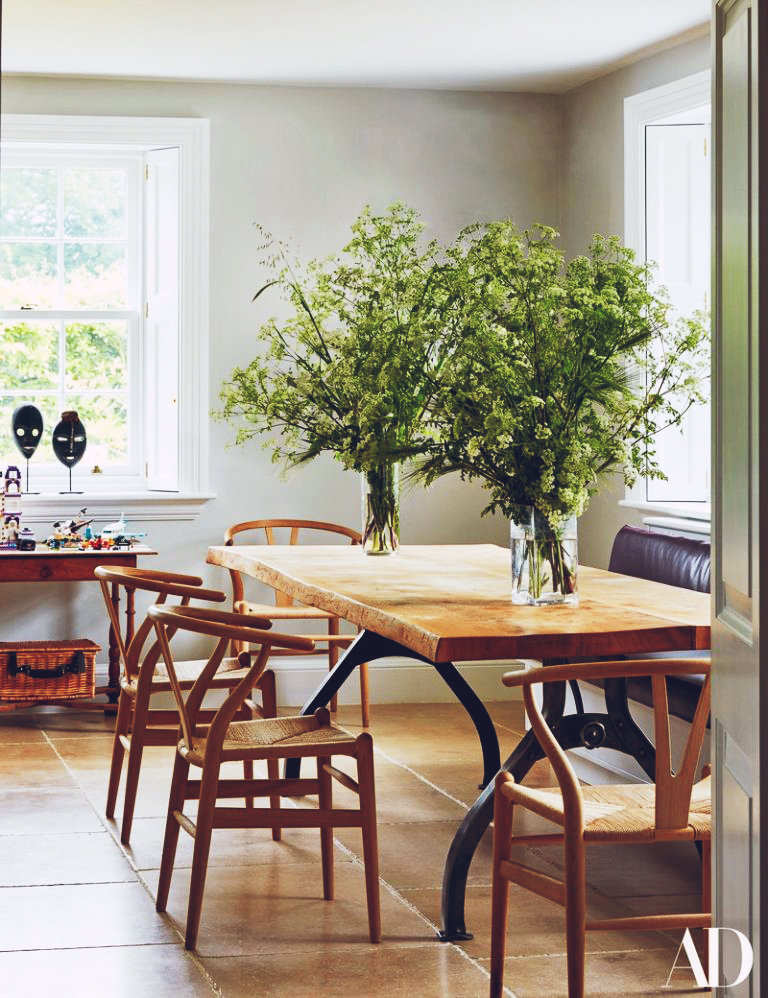 At Home With: India Hicks & David Flint Wood, Oxfordshire