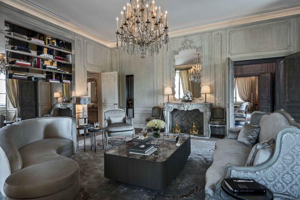 Places: Hôtel de Crillon, Paris & a Renovation by Karl Lagerfeld