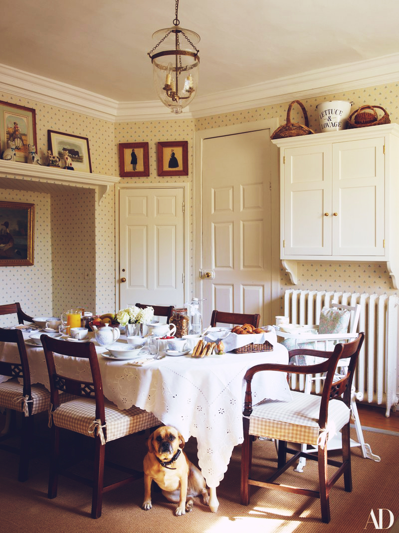 At Home With: Alice Naylor-Leyland, English Countryside