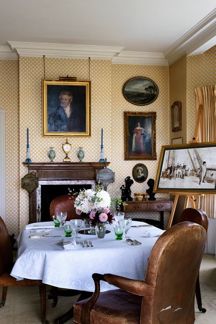 Décor Inspiration: Cadland House, Isle of Wight