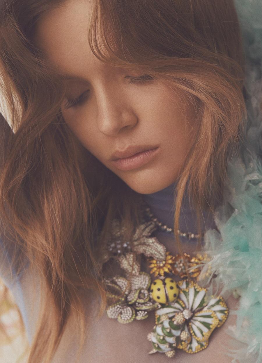 Fashion Editorial: Josephine Skiver by Zoey Grossman for Numéro Tokyo April 2018