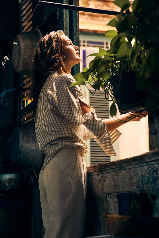 Fashion Editorial: Dasha Maletina by Will Vendramini for ELLE Poland April 2018