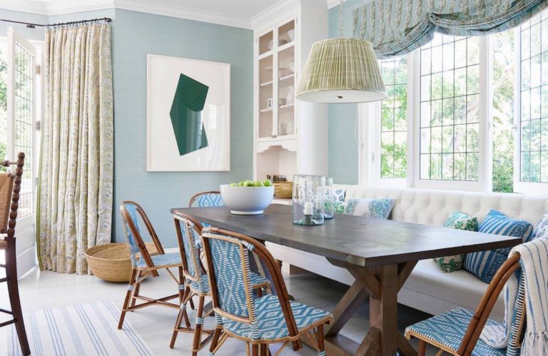 A Redecorated Summer Home in Montecito, California