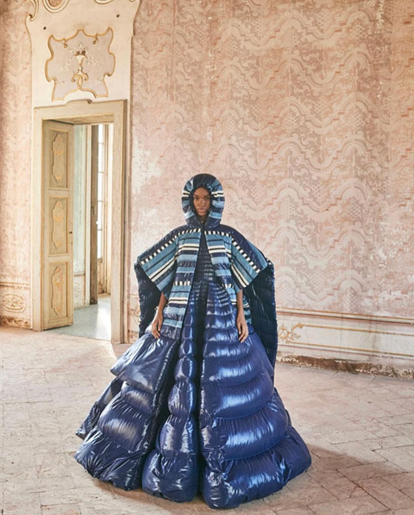 Moncler Genius Collection: Pierpaolo Piccioli & Liya Kebede