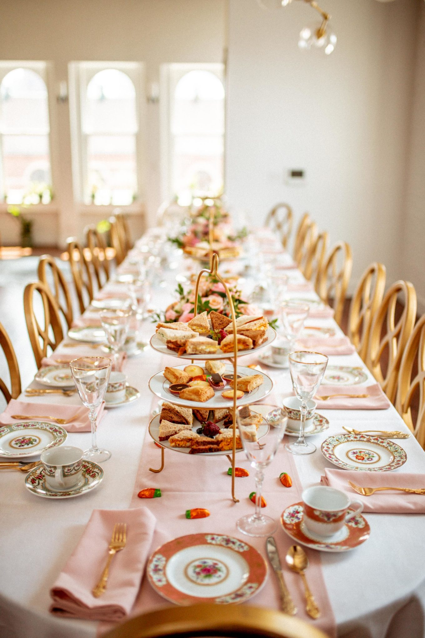 Tabletop Inspiration: A Beatrix Potter-Themed Baby Shower