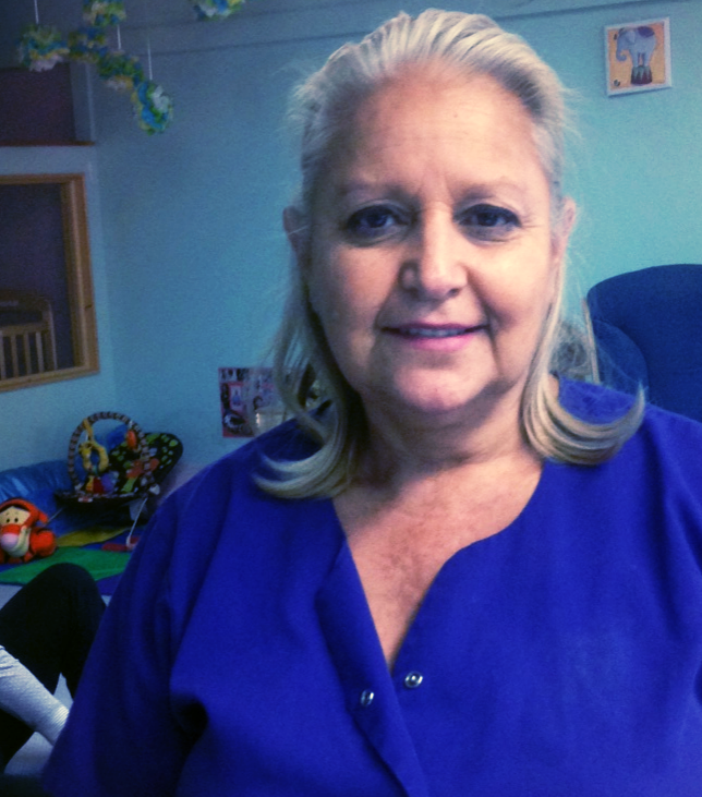 """Vickie  """"Hi, my name is Vicky Andrade. I have been working iwth children (infants to high school) since 1993. I started my adventure with children at Little Buddies Day Care in El Jebel and worked there for 7 years. In 2000 I went to Yampah Mountain High School and worked there for the Teen Parent Program Childcare Center for 7 years. Finally in 2007 I became a part of the family here at ELC. I have taken various classes in Early Childhood Education, Health, Safety, and Nutrition of young children."""""""