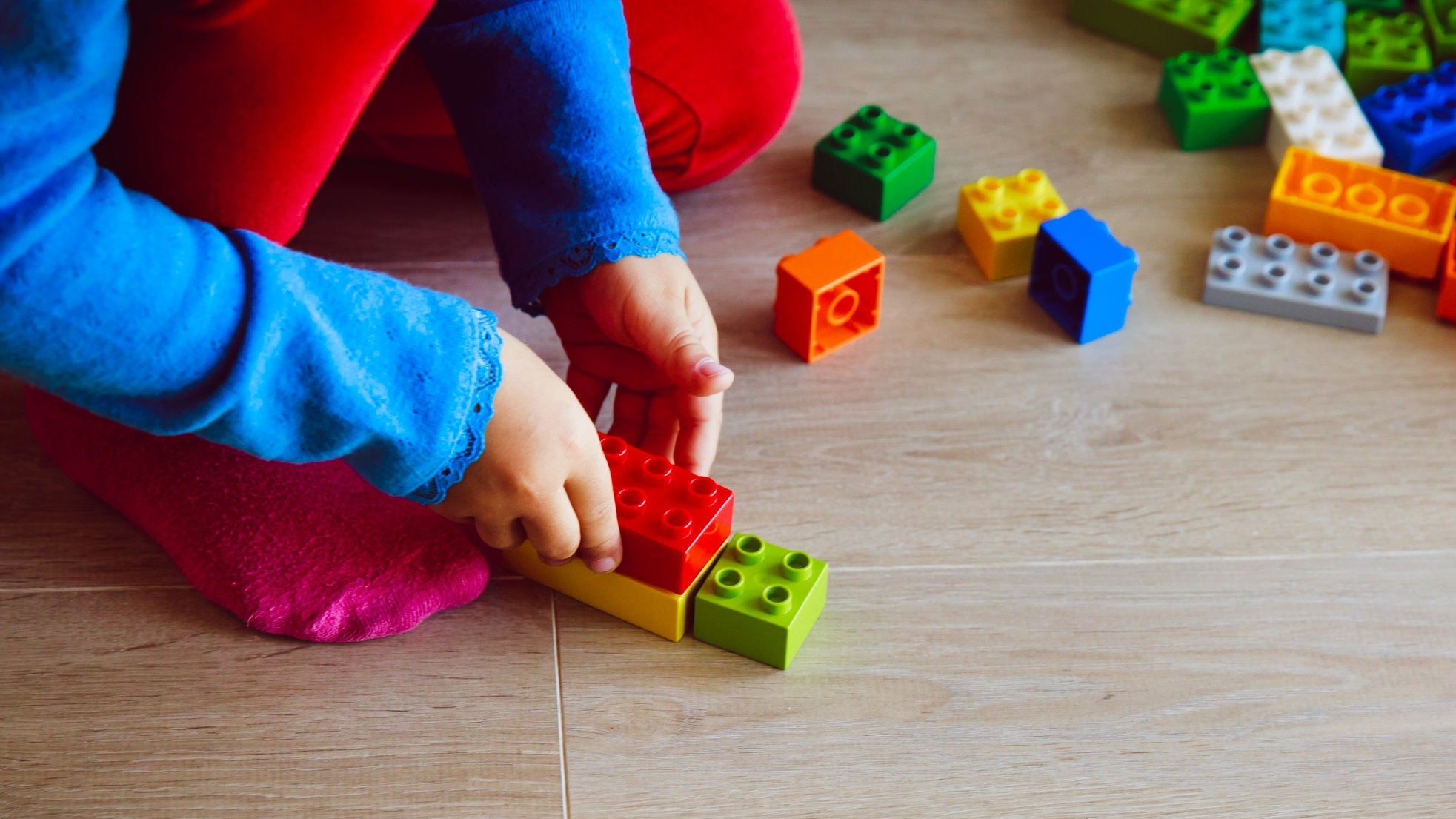 The ELC's Childhood Curriculum places an emphasis on all aspects of a child's growth and development. -
