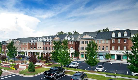 Equity Investment  62,453 SF Mixed Use Project  Buford, GA