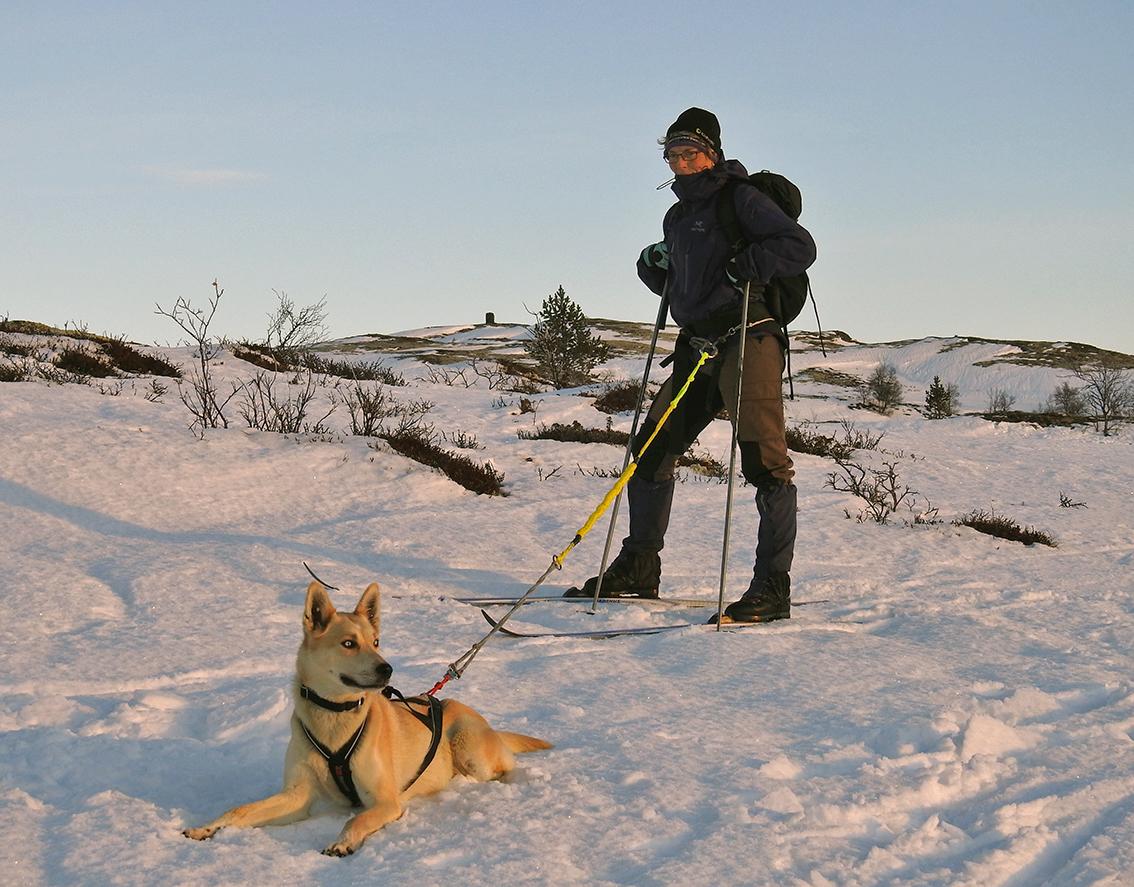 Den som kler seg godt, kan trygt ta turen til fjells. Men husk: Dagene er korte! Foto: Ingebrigt Storli
