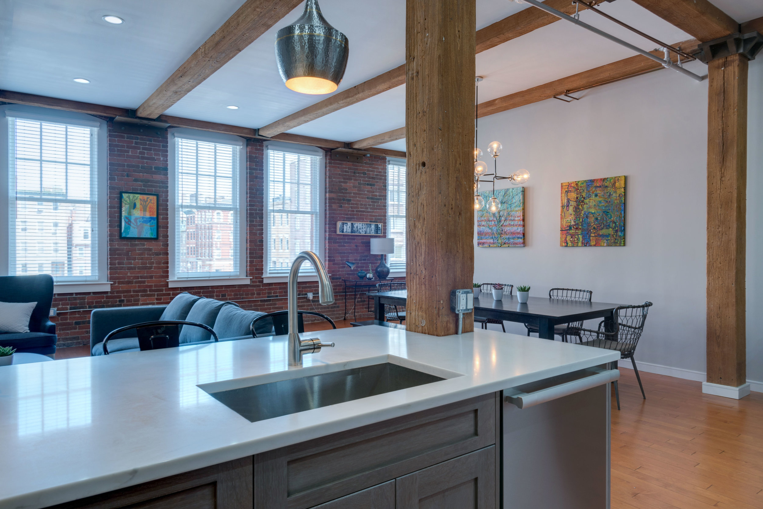 Loft in the North End.