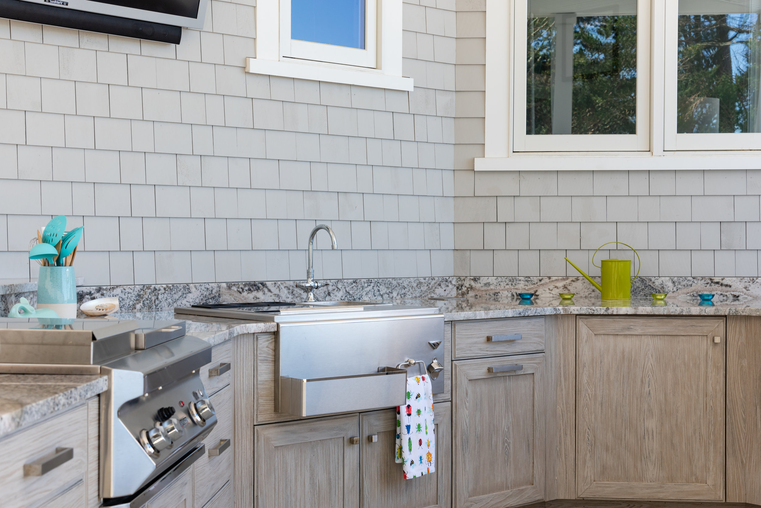 Outdoor Kitchen in Plymouth.