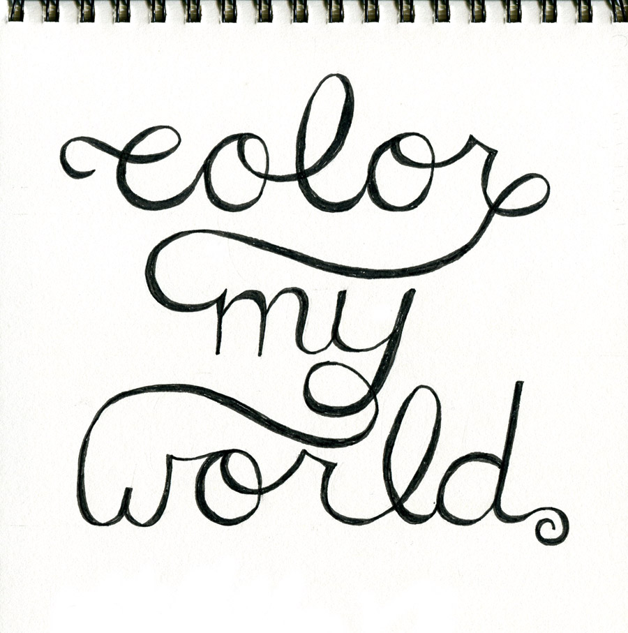 Color My World (work in progress)