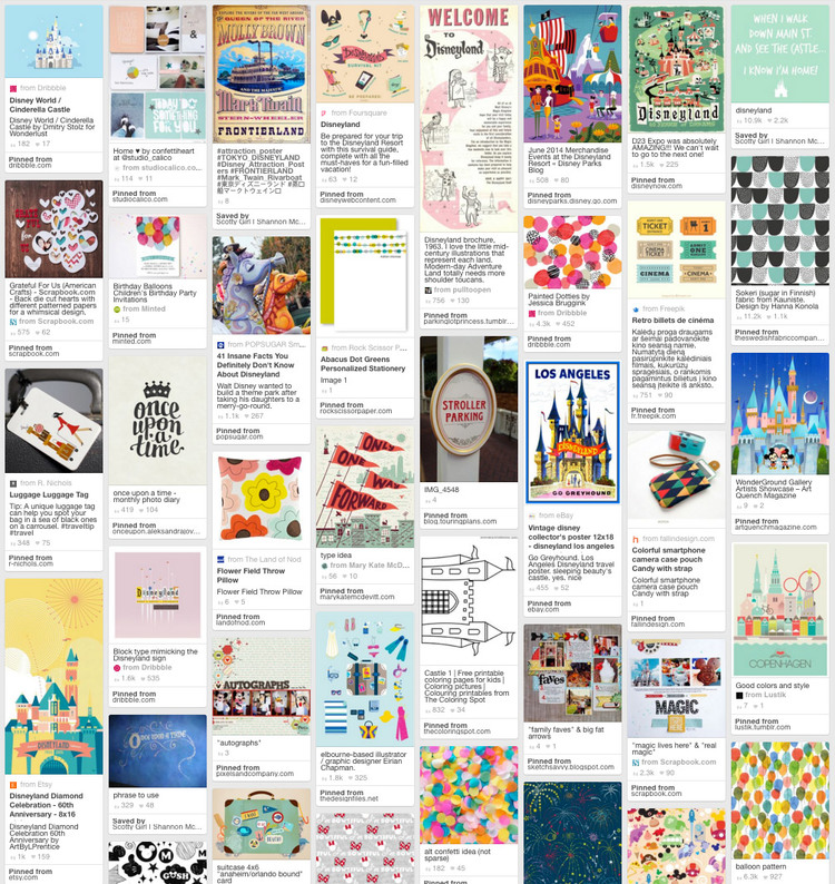 Disney Inspiration Pinterest board for Magic Memories Project Life cards | shannonmcnab.com