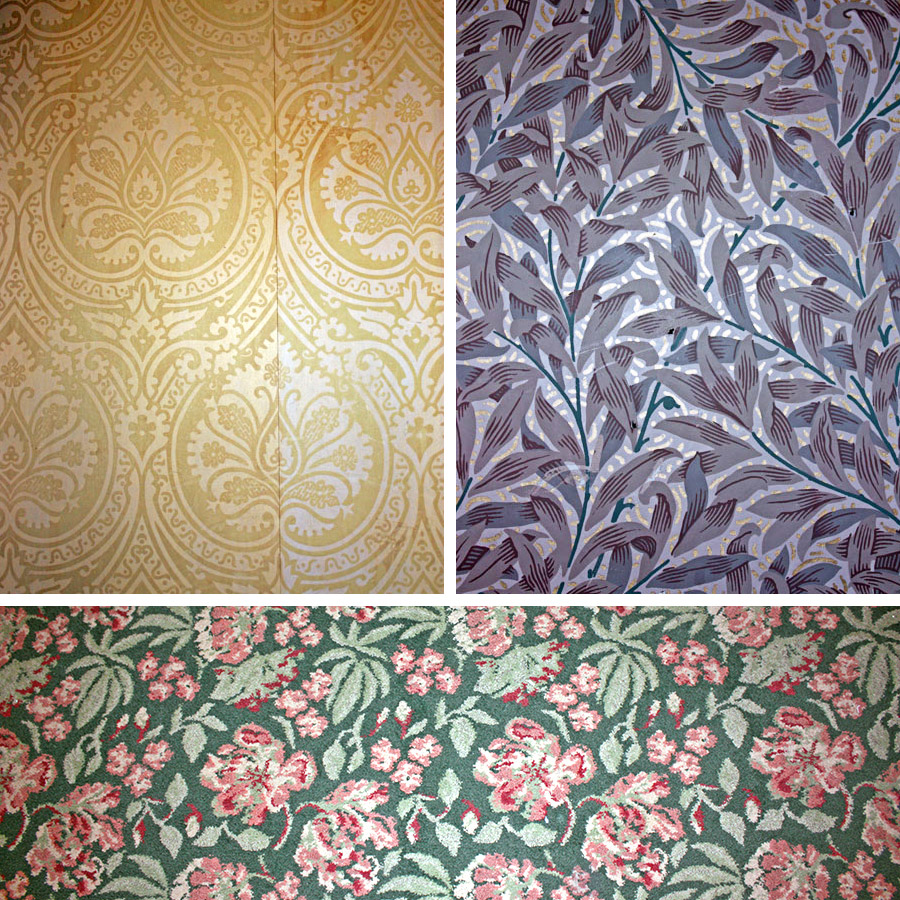 Patterns found at the China Closet on Main Street U.S.A in Disneyland
