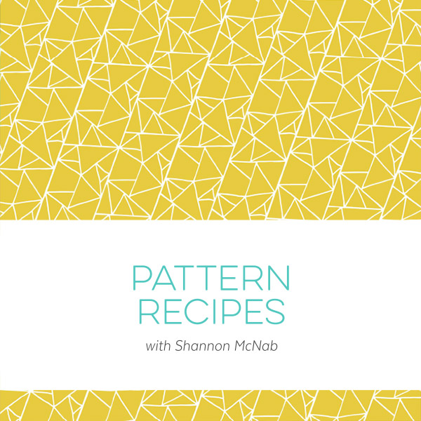 Pattern Recipes: A Illustrator Mini Course by Shannon McNab