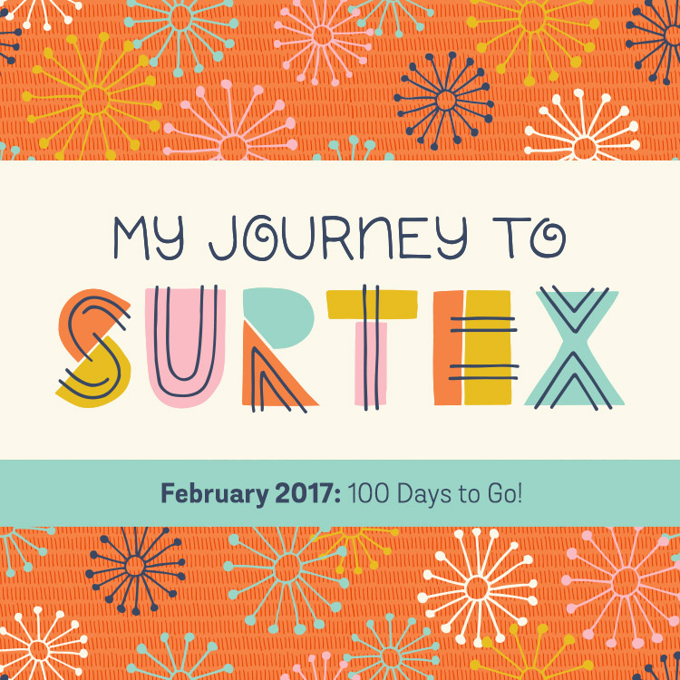 My Journey to Surtex February 2017: 100 Days to Go | shannonmcnab.com