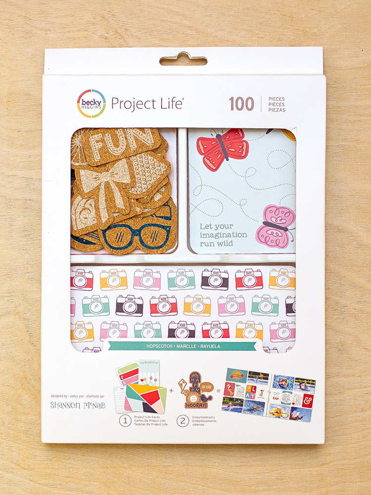 Hopscotch Value Kit for Becky Higgins LLC designed by Shannon McNab