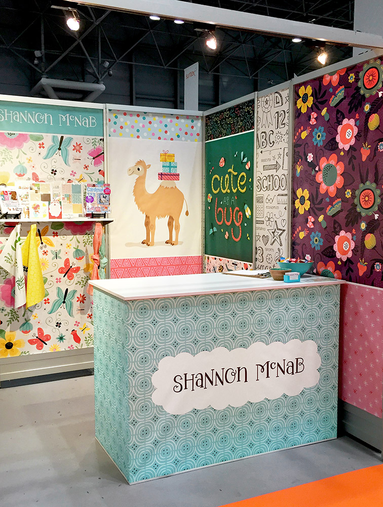 My Surtex 2017 Booth | shannonmcnab.com