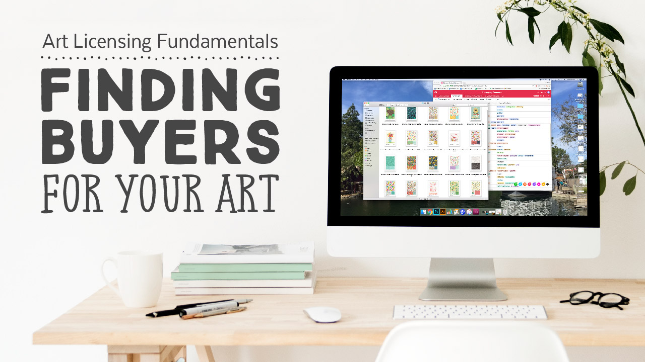Art Licensing Fundamentals: Finding Buyers for Your Art | A Skillshare Class by Shannon McNab