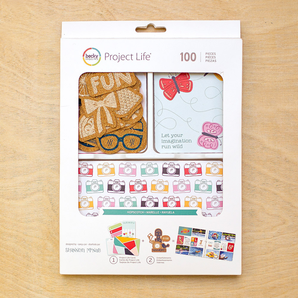 Hopscotch Project Life Mini Kit for Becky Higgins LLC