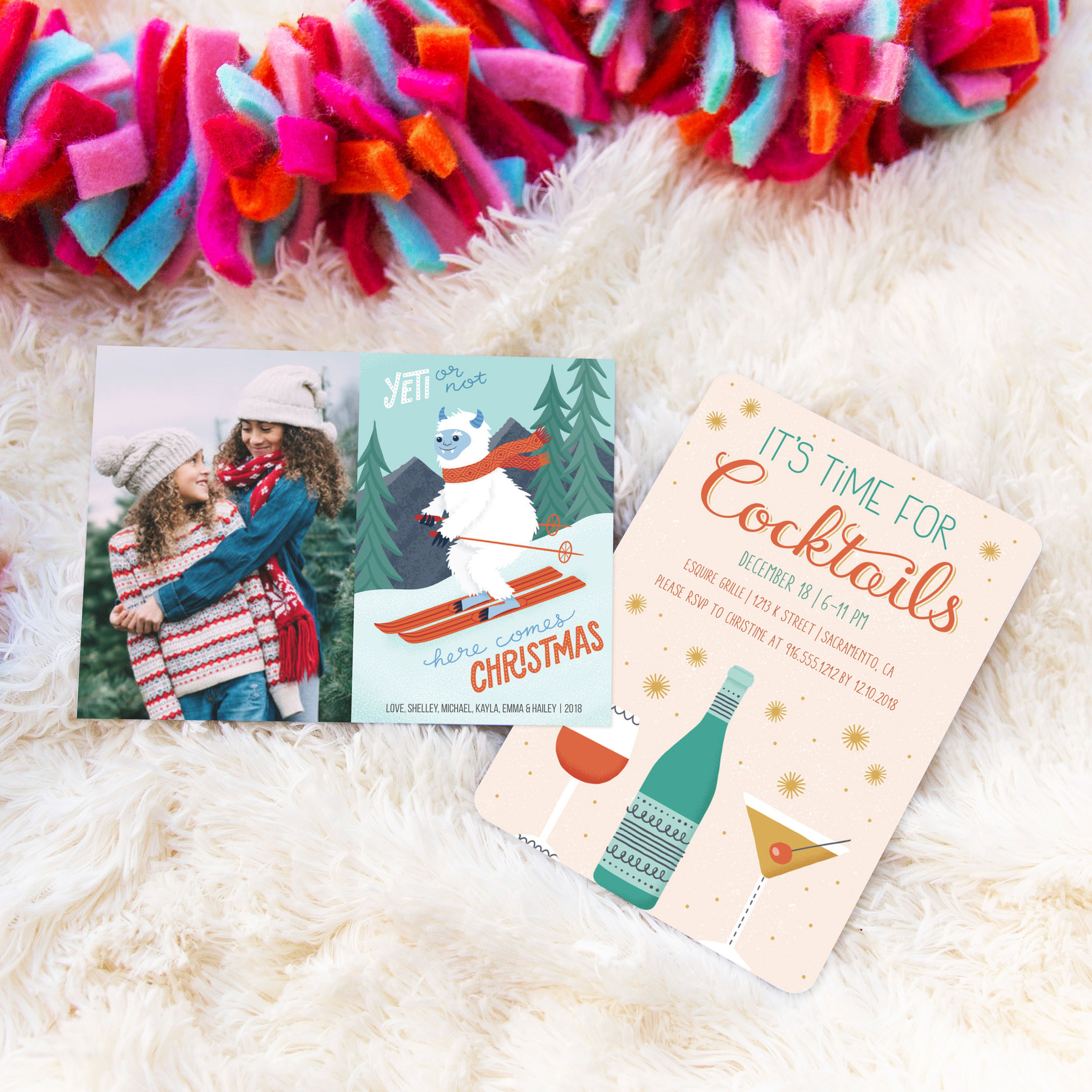 Holiday Photo Card & Invitation for Mixbook