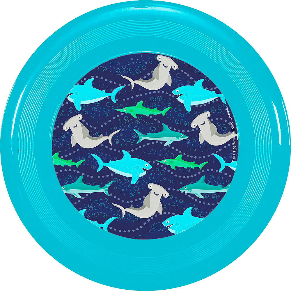 Sharks Frisbee for Party City