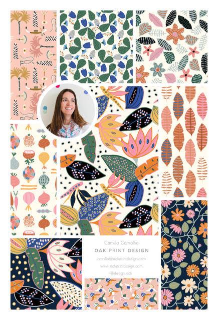 Camilla Carvalho: Oak Print Design
